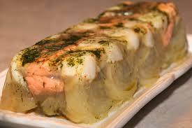 terrine de st jacques et de saumon en gelée la cuisine de jackie