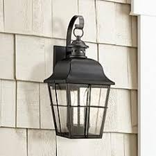 Mission Style Outdoor Wall Lights