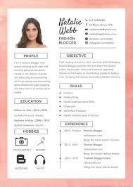 Free Best Fashion Resume Template