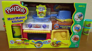 Play Doh Meal Makin Kitchen Playset by Hasbro Toys Video Dailymotion