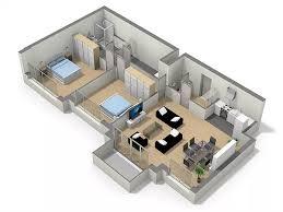 résidence services pour seniors actifs appartement 2 chambres