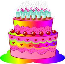 cute happy birthday cake clipart birthday cake clip art 4 views 2 s png 136 kb