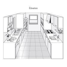 cuisine parall鑞e plan de cuisine les différents types kitchens mini kitchen