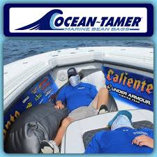 The INTENSE Pro Fishing Team Never Leaves Down Without Their Ocean Tamer Marine Bean Bags And Neither Should You