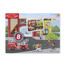 Melissa & Doug Around The Fire Station Sound Puzzle | Toys R Us Canada Sound Puzzles Melissa Doug 3d Stacking Emergency Vehicles Refighter Truck Melissa And Doug Kids Play Pretend Toys Dillards Around The Fire Station Puzzle R Us Canada Solar System Space Radar Find More And Firetruck Makes Noise For Sale Doug Wooden Fire Games Compare Prices The At John Lewis Partners Disney Baby Mickey Mouse Friends Wooden Truck 100 Pieces Ktpuzz9 Colorful Fish Peg Personalized Miles Kimball Memtes Electric Toy With Lights Sirens Sounds