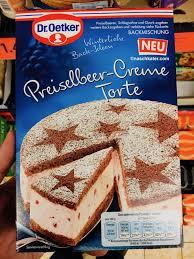 dr oetker preiselbeer creme torte backmischung naschkater