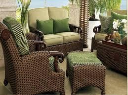 Wicker Patio Chairs Set