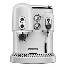KitchenAid KES2102FP Pro Line Series 75 Cup Espresso Coffee Maker W Milk Frother White