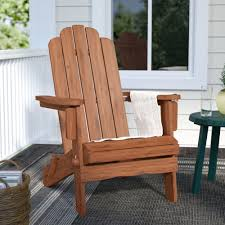 Birch Lane™ Heritage Imane Solid Wood Folding Adirondack Chair ... Adirondack Chair Outdoor Fniture Wood Pnic Garden Beach Christopher Knight Home 296698 Denise Austin Milan Brown Al Poly Foldrecling 12 Most Desired Chairs In 2018 Grass Ottoman Folding With Pullout Foot Rest Fsc Combo Dfohome Ridgeline Solid Reviews Joss Main Acacia Patio By Walker Edison Dark Wooden W Cup Outer Banks Grain Ingrated Footrest Build Using Veritas Plans Youtube