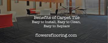 benefits of carpet tile easy to install easy to clean easy to