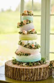 Rustic Buttercream Wedding Cakes