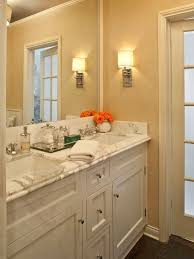 Source Jeneration Interiors Gorgeous Bathroom With Rafia Wallpaper Dark Hardwood Floors White