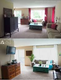 Living Room Makeovers Before And After Pictures by Living Room Makeover Spring Home Decor Welcome To The Woods