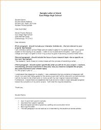 Nursing Letter Intent Letter Intent for Nursing School Example