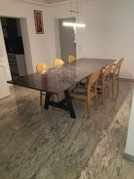 granit tisch marmor stabil hochwertig esszimmer wohnzimmer