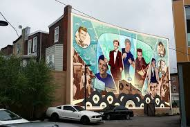 Big Ang Mural Unveiling by New Mural To Honor Legacy Of South Philly U0027s Bandstand Era Music