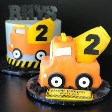 100 Truck Cakes Cades Construction Happy 2nd Birthday Rhys