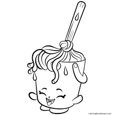 Fresh Shopkins Season 2 Coloring Pages Collection
