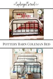 Camp Dresser Pottery Barn by Pottery Barn Vintage Style Metal Iron Coleman Bed Cheaper Knockoff