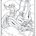 46 Best Jesus Calms The Storm Images On Pinterest Inside Coloring Pages