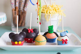 Kara s Party Ideas Mickey Mouse Character Cake Pops from a Mickey