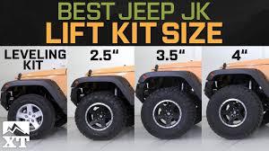 Jeep Wrangler JK Leveling Kit Vs 2.5