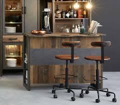 details zu bar theke hausbar used wood vintage grau matera stehtisch bartresen 140 cm prime