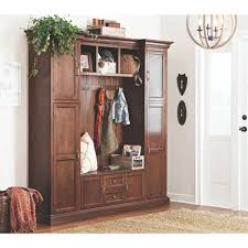 Home Decorators Home Depot Cabinets by Home Decorators Collection Royce Smoky Brown Hall Tree 7474200820