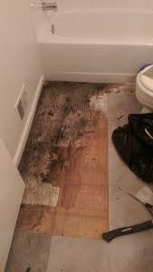 can i deduct bathroom water damage from security deposit