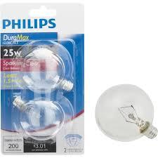 buy philips duramax candelabra g16 5 globe light bulb