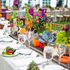 Modern Wedding Theme Tablescape
