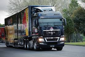 Red Bull Racing Jamie Whincup's Race Team Moved By MAN Truck ...
