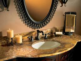 granite bathroom countertops hgtv
