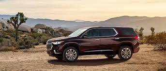New 2018 Chevrolet Traverse At Courtesy San Diego
