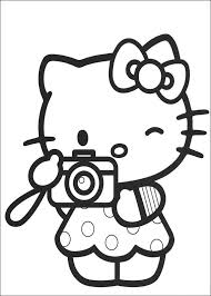 Download Hello Kitty Coloring Pages 14