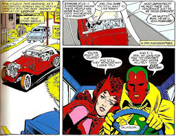Great Moments In Comics History Vision And The Scarlet Witch 1