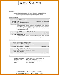 Resume Example For Jobs With No Experience Job Resumes Military Bralicious Co