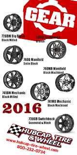 100 Gear Truck Wheels New 2016 Alloy Jeep SUV OffRoad Ford Chevy