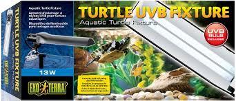 exo terra turtle uvb fixture hg 22234 creativepet serving