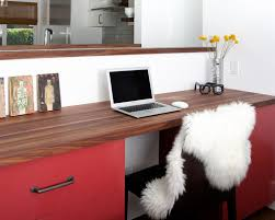 charming countertop desk ideas how to make a planked wood desktop