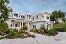 Coastal Caribbean House Plan Naples Architecture Weber Design 251212 Homes Designs