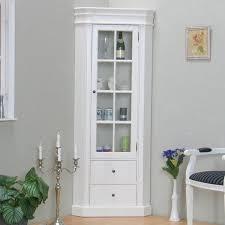 vitrine amaretta eckvitrine vitrine glasvitrine weiß