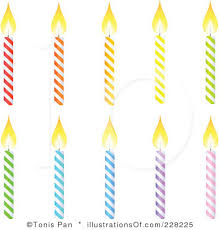 Candle clipart birthday candle 1