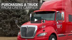 100 Crete Trucking Purchasing A Truck From Carrier On Vimeo