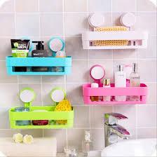 großhandel saugerkante kunststoff organizer net box spülbecken bad regal lagerung hängen handtuchhalter lagerregal dusche wandregal tanzhilian