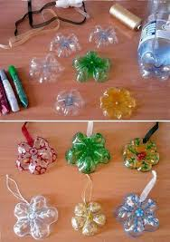 How To Make Pretty Snowflake Ornaments With Used Plastic Bottles Step By DIY Tutorial Instructions Do Diy Crafts