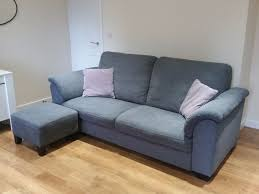 ikea tidafors sofa set available to collect now hensta grey