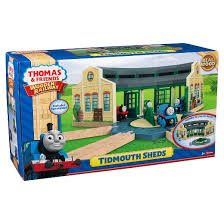 fisher price thomas friends wooden railway tidmouth sheds target
