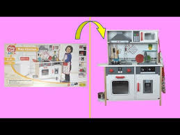 kitchen for unboxing play set lidl playtive junior play