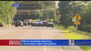 100 Rochester Truck Nh OfficerInvolved Shooting Investigated In NH CBS Boston